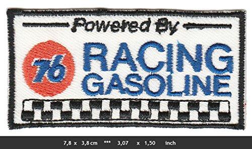 Preisvergleich Produktbild 76 UNION GASOLINE Aufnäher Patches Motorsport Rennsport Tankstelle Benzin USA White