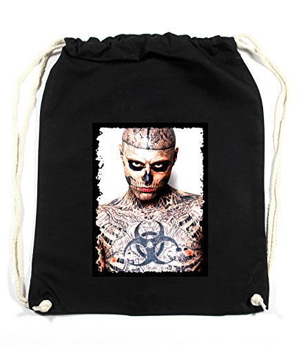 Tattoo Zombie Sac De Gym Noir Certified Freak