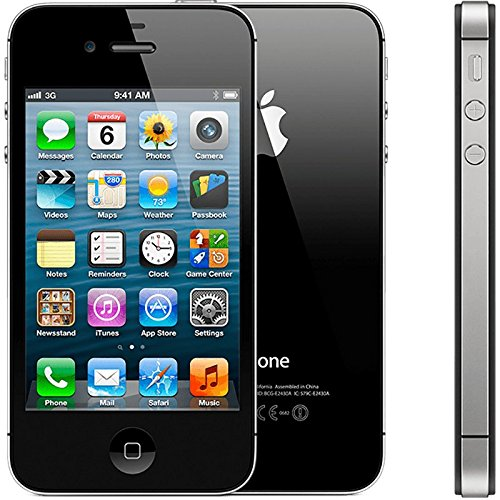 Apple iPhone 4S Smart Phone 16 GB Black