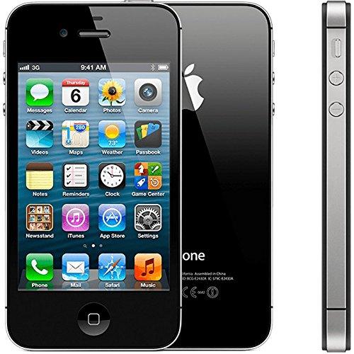 Apple iPhone 4S 16GB (Black) - Unlocked Imported