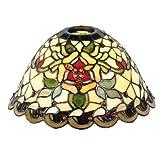 Lumilamp 5LL-9114 Tiffany Lampenschirm Glasschirm Ø 26 Zentimeter