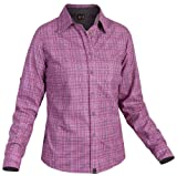 Salewa Damen Bluse Molignon PL LONgsleeve W, m talut dhl/crb/snw, 40/34, 00-0000020305