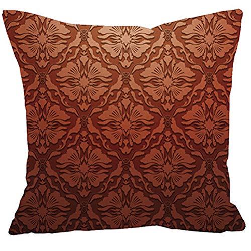 HUAHAO Taie d'oreiller, protège-oreillers Coton Lin de Style méditerranéen Vivant à la Maison décoration de Oreiller Couvre 45 * 45CM