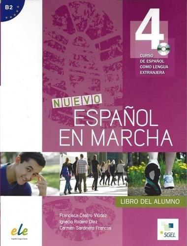 Nuevo Espanol en Marcha 4: Student Book with CD: Curso de Espanol Como Lengua Extranjera