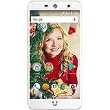 Wileyfox Swift 2 Plus - Teléfono móvil libre (pantalla de 5 pulgadas de alta definición, 32 GB de memoria interna con 3 GB de RAM, doble SIM 4G, sistema operativo Android Nougat 7.1.1), color dorado