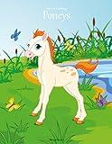 livre de coloriage poneys 1