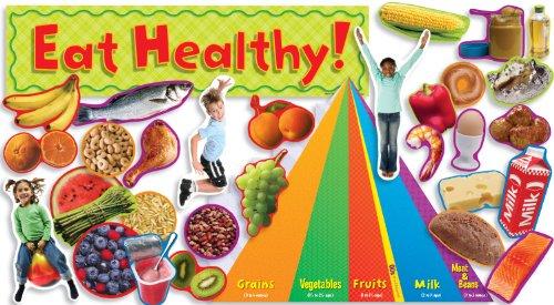 Nutrition with Food Pyramid Mini Bulletin Board por Teacher's Friend