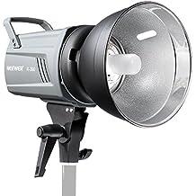 Neewer® K-300 300W 5600K Luz Estroboscópica Estudio Digital con Tornillo E27 100W Modelado Lámpara Flash Luz Monoluz para Fotografía de Estudio, Locación o Autorretrato