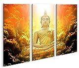 De Imágenes sobre lienzo Zen Buda V33p abstracto Yoga XXL Póster Lienzo Cuadro de decoración salón Marca Islandburner