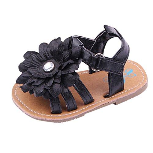Heligen_Baby Jungen Mädchen Geschlossene Sandalen Infant Baby Floral Kleinkind Sneaker Anti-Rutsch-Ball Solide Erste Wanderer Schuhe Mädchen Turnschuhe