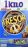 Kellogg's Céréales Trésor Chocolat au Lait 1 kg - Lot de 3