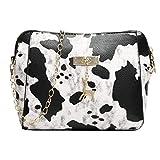 Damentasche Handtasche Damen Leder Handtasche Schultertasche Rockabilly Tasche Handtasche Elegant-...