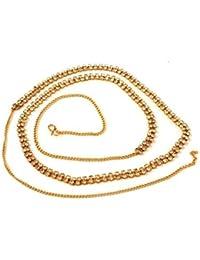 Accessher 2 Line Stone Waist Hoop Waistbelt Kamarband