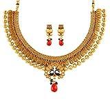 Apara Fashion Jewellery Gold Alloy Neckl...