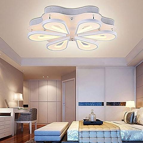 Creative Salon Forme de fleur Lampes de chambre à coucher salle de mariage Décoration Plafonnier Restaurant lumières Chambre d'hôtel lumières