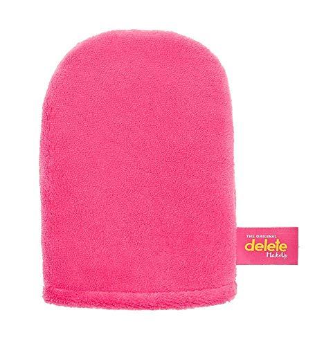 DELETE color rosado - Guante desmaquillante