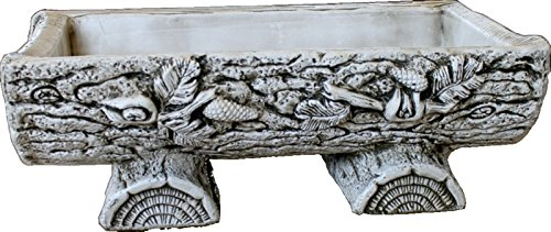 Jardinière tronc Pierre Extérieur 63 x 28 x 20 cm.