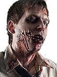 Zombie Latex Wunde mit Filmblut zum Zombiekostüm Halloween