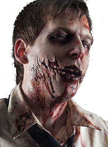 it Filmblut zum Zombiekostüm Halloween (Latex Halloween Wunden)