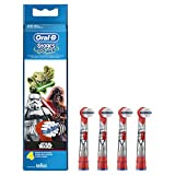 Oral-B Stages Power Kids Aufsteckbürsten im Star Wars Design, 1er Pack (1 x 4 Stück) -