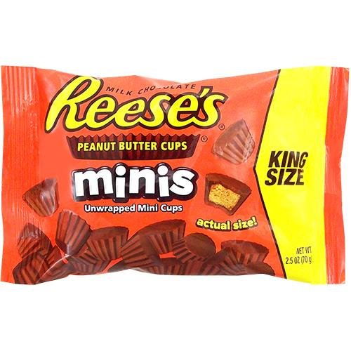 reeses-peanut-butter-cups-minis-king-size-25-oz-70g