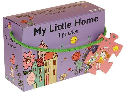 Barbo Toys Classic Barbo Toys 3 Puzzles Mi pequeña casa (5924)