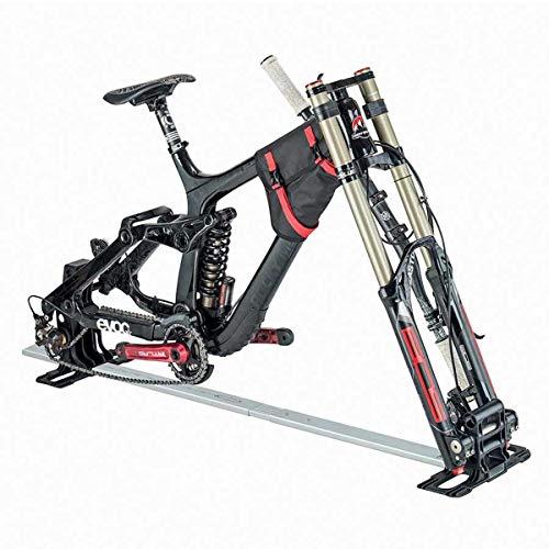 evoc Fahrradhalterung aus Aluminium, ideal für den Transport Ihres Fahrrads in Einer Transport-Tasche Unisex Erwachsene, Schwarz