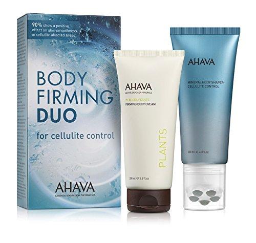 AHAVA Deadsea Salt Body Firming Duo Körperpflegeset (Body Shaper,200 ml + Body Cream, 200 ml)