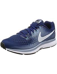 best service 8694a b0465 Nike Wmns Air Zoom Pegasus 34, Zapatillas de Running para Mujer, (Binary  Blue/White-Glacier Grey-Cerulean), 36.5…