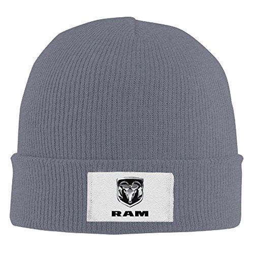 yhsuknntbj-woolen-hat-knit-ted-caps-dodge-ram-logo-asphalt
