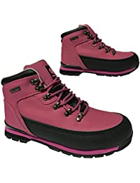 WOMENS/LADIES/<wbr/>GIRLS HI TOP SPORTS PUMP SHOE LACEUP ANKLE BOOT TRAINER SIZE 3-8