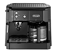 Delonghi BCO 411.B Combi Espresso & Filter Coffee Maker, Black