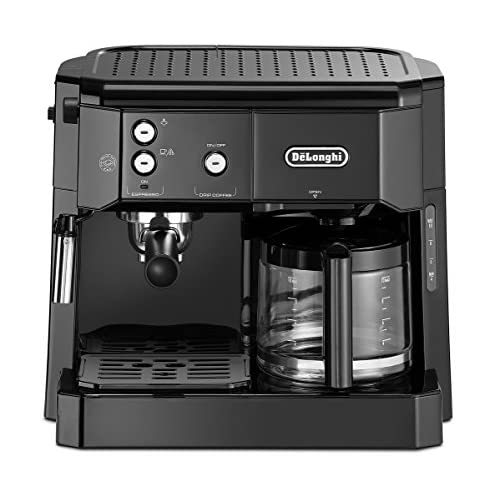 DELONGHI BCO411.B De'Longhi BCO 411.B Coffe Maker, stainless steel, rust-proof, 1750 W, 1 Liter, Black