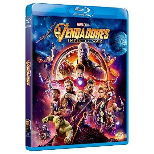 BD Vengadores Infinity War [Blu-ray] 3