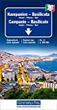 Kampanien - Basilicata: Neapel-Potenza-Bari. Regionalkarte Nr. 12. Massstab 1:200000 (Kümmerly+Frey Reisekarten) -