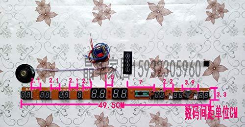 wanduhr,wanduhr ohne tickgeräusche,wanduhr groß,wanduhr vintage,wanduhr kinder.Elektronische Uhr Digitalkalender Platine Uhrwerk Zubehör Motherboard Uhrwerk Wanduhr LED Platine Platine (Motherboard Vintage)