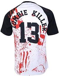 ZOMBIE KILLER 13 Baseball T-Shirt