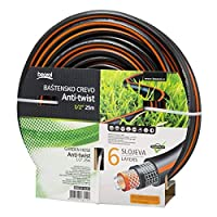Beorol-Heavy Duty 6 Layer Anti-Twist Garden Hose 1/2x25 Meter
