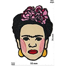 Parches - Frida Kahlo - Artist - Surrealismus - Love - Iron on Patch -Parche Termoadhesivos Bordado Apliques - Give Away""
