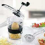 G4 TECH Neue Heiße Gemüse Spiralizer Hand Rotary Spiral Chopper Lebensmittel Prozessor Spiral...