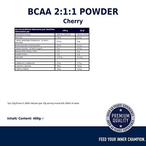 Multipower BCAA 2:1:1, Cherry Bomb, 1 x 400 g - 5