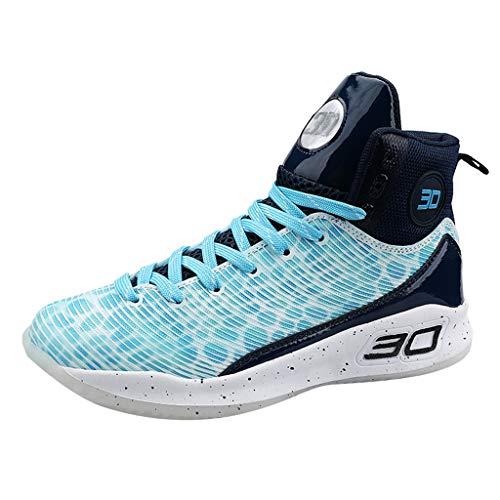 n Freizeitschuhe Leichte Gym Sneaker Sportschuhe Turnschuhe Atmungsaktiv Schuhe Teens Hohe Hilfe Hip Hop Mann Straßen Tanz Beiläufige Schuh Gezeiten Sneaker ()