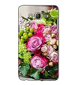 Fuson Designer Back Case Cover for Samsung Galaxy On7 G600Fy :: Samsung Galaxy Wide G600S :: Samsung Galaxy On 7 (2015) (Bunch of flowers )