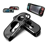 BEESCLOVER Hard Aluminum Protective Case Anti-Slip Shockproof Protective Cover for Game Console and Handles