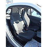 2Métrica Asiento Fundas Fundas Asiento delantero Lux Negro OEM plástico piel einteilig para Smart 450451452Fundas de asiento schonbezüge Colchón Fortwo Coupé (C 450) Fortwo Coupé (C 451) brabus Fortwo (C 450) brabus Fortwo (C 451) Smart K (C 450) Fortwo Cabrio (a 450) Fortwo Cabrio (a 451) brabus Fortwo Cabrio (a 451) CROSSBLADE (R 450) Roadster (R 452) Roadster Coupé (C 452) Top calidad con orificios para airbag Lavado Bar
