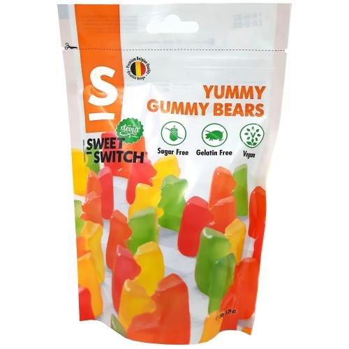 """Preisvergleich Produktbild Sweet-Switch """"Yummy Gummy"""" Gummibärchen mit Stevia und Maltit,  150g"""