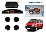 Speedwav Reverse Car Parking Sensor LED Display BLACK - Maruti Eeco best price on Amazon @ Rs. 798