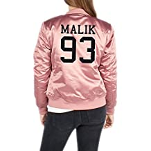 Malik 93 Bomber Giacca Girls Rosa Certified Freak