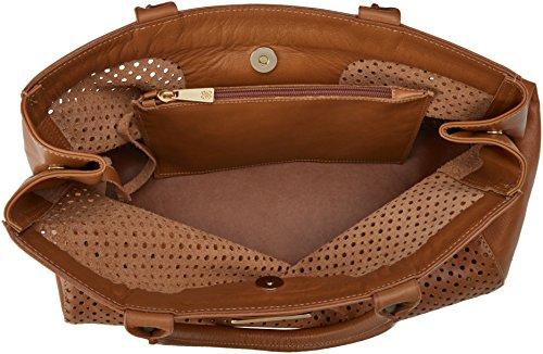 CUPLE - Picados Palm, borsa Donna Marrone