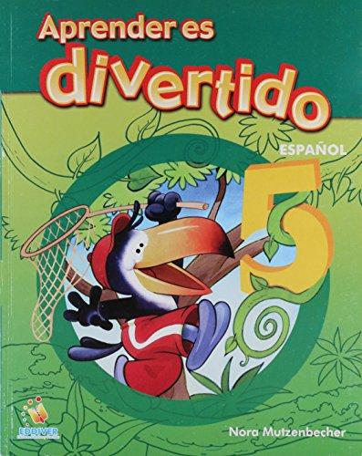 Aprender es divertido/ Learning is Fun: Espanol 5/ Spanish par Nora Mutzenbecher
